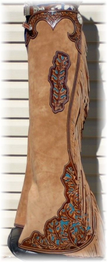 love the tooling! Would love to wear a pair of chaps someday!