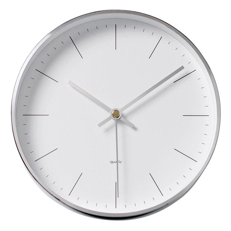 Silver Wall Clock - Bloomingville - Bloomingville