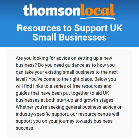 Interactive guides and resources providing help, tips and advice to small businesses and business start ups in the UK on a range of topics