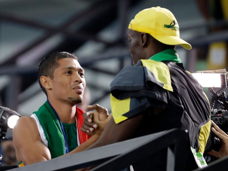 Rio Olympics 2016 Wayde van Niekerk Man who almost upstaged Usain Bolt - New Zealand Herald