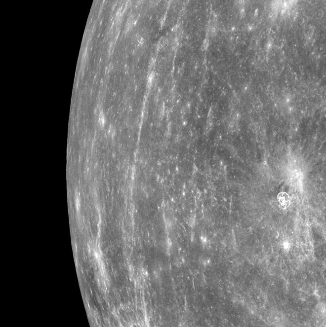 on approach to Mercury