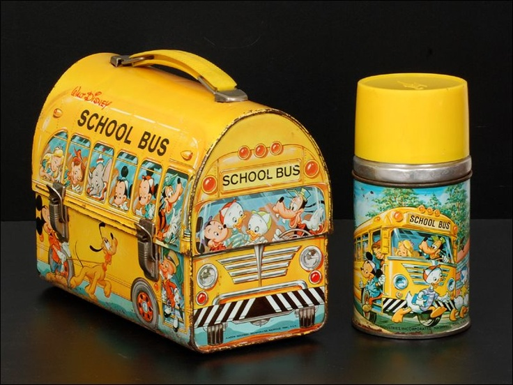 Pictures of Vintage School Lunch Box - #rock-cafe