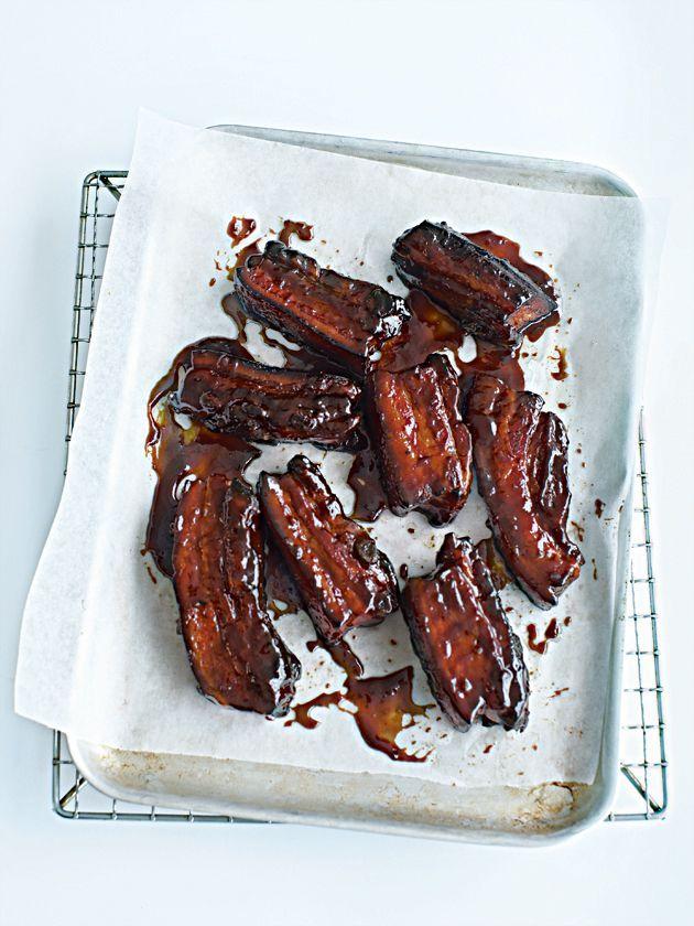 sticky pork spare ribs . . . https://www.donnahay.com.au/recipes/fast-weeknights/sticky-pork-spare-ribs