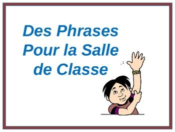French Classroom Phrases Powerpoint