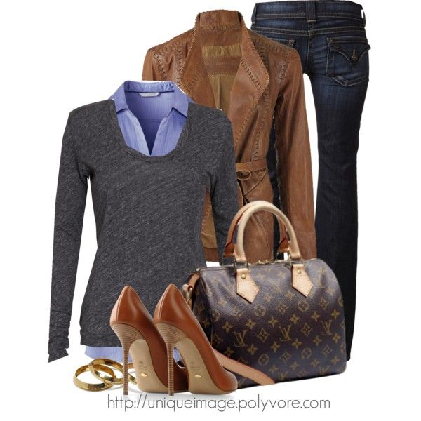ahhhh love it all as a workfit EXCEPT the LV bag... I'd do something that wouldn't cost the price of 6 purses -DONNA KARAN Jacket - Polyvore