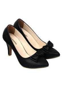 Jual sepatu wanita murah dan berkualitas: CLAYMORE Sepatu High Heels BB-702 Black