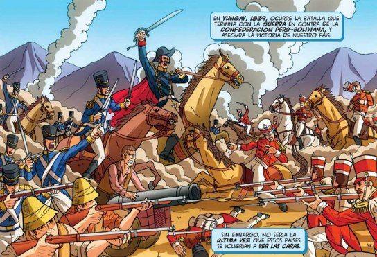Historia de Chile en Comic