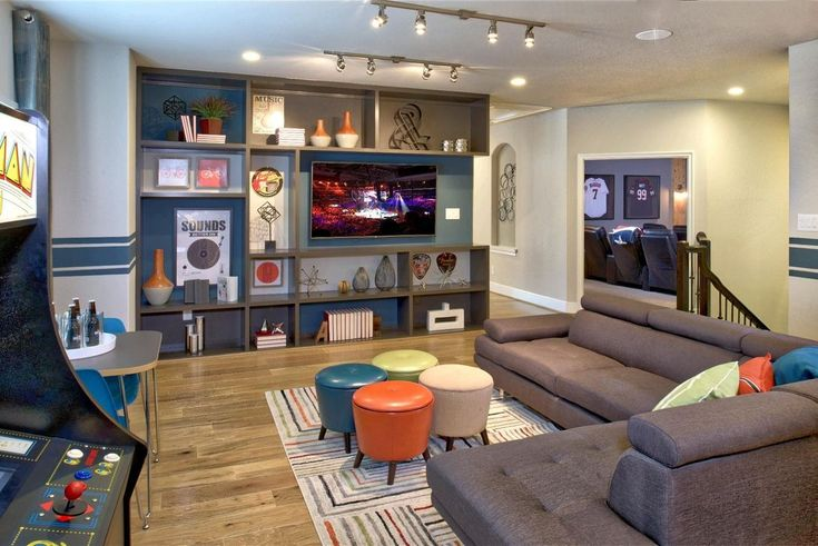 30 Cozy Game Room Ideas For Your Home