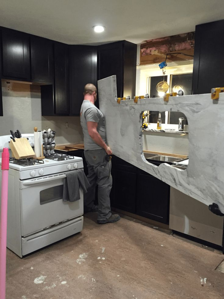 Granite Countertop Installation Process