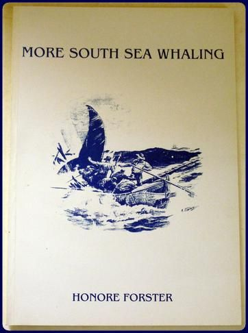 Forster, Honore. MORE SOUTH SEA WHALING. A Supplement to THE SOUTH SEA WHALER: AN ANNOTATED BIBLIOGRAPHY OF PUBLISHED HISTORICAL, LITERARY AND ART MATERIAL RELATING TO WHALING IN THE PACIFIC OCEAN IN THE NINETEENTH CENTURY. Compiled by...... Canberra:Division of Pacific and Asian History Research School of Pacific Studies The Australian National University. 1991. 61pp. Wrps. A fine copy.\r\n [WHALING, BIBLIOGRAPHY]