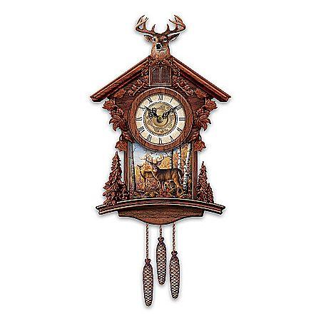 cuckoo clock woodland heritage cuckoo clock