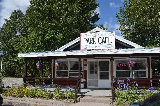 """Also known as """"Two Sister's Cafe"""" you'll order a slice to eat in, and a whole pie to take out....THE best pies, in the Big Skies.... St. Mary, MT"""