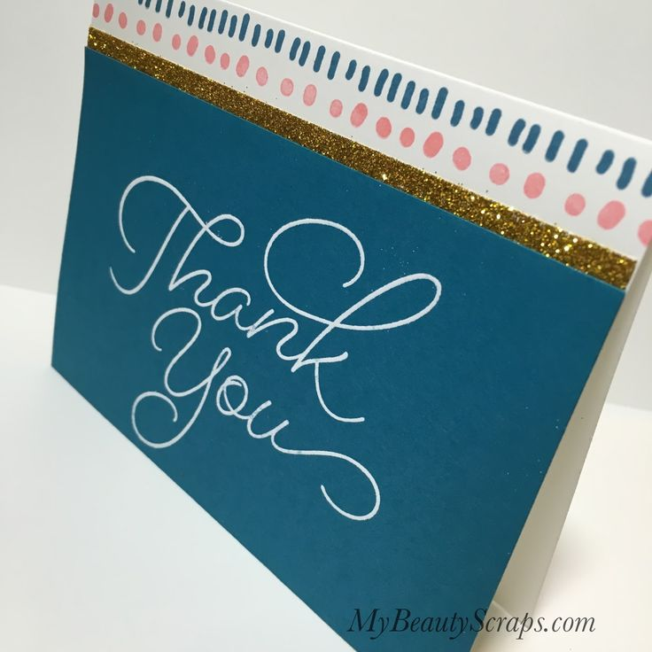 BeautyScraps:  Alternative Card Idea #2 using Stampin' Up! My Paper Pumpkin Kit for February 2017: Many Happy Birthdays