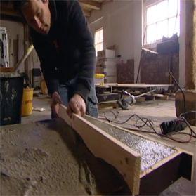 Keukenblad van beton eigen huis tuin wooninspiratie for Aanrechtblad karwei