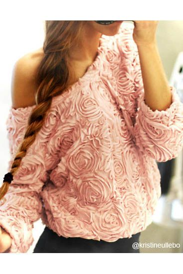 Obsessed with this rose top!