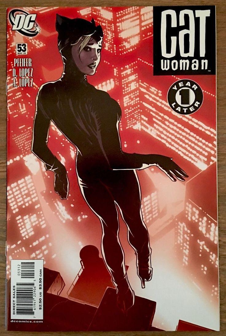 Catwoman Adam Hughes Adam Hughes #53 Rojo DC Comics Gotham sirenas caliente | eBay