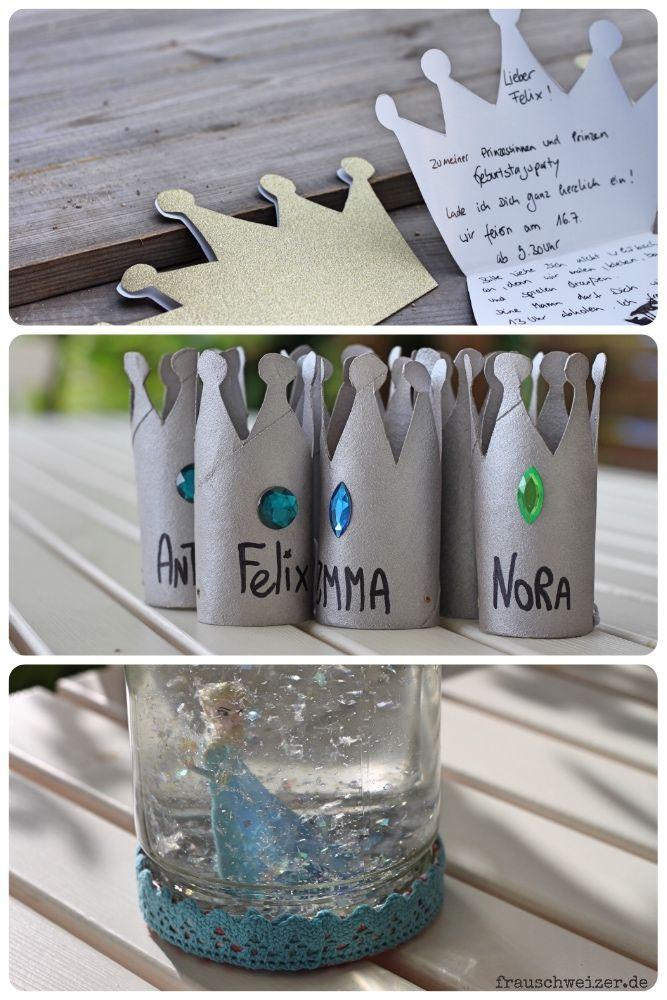 Ideen für einen  Elsa- Prinzessinnen Kindergeburtstag!