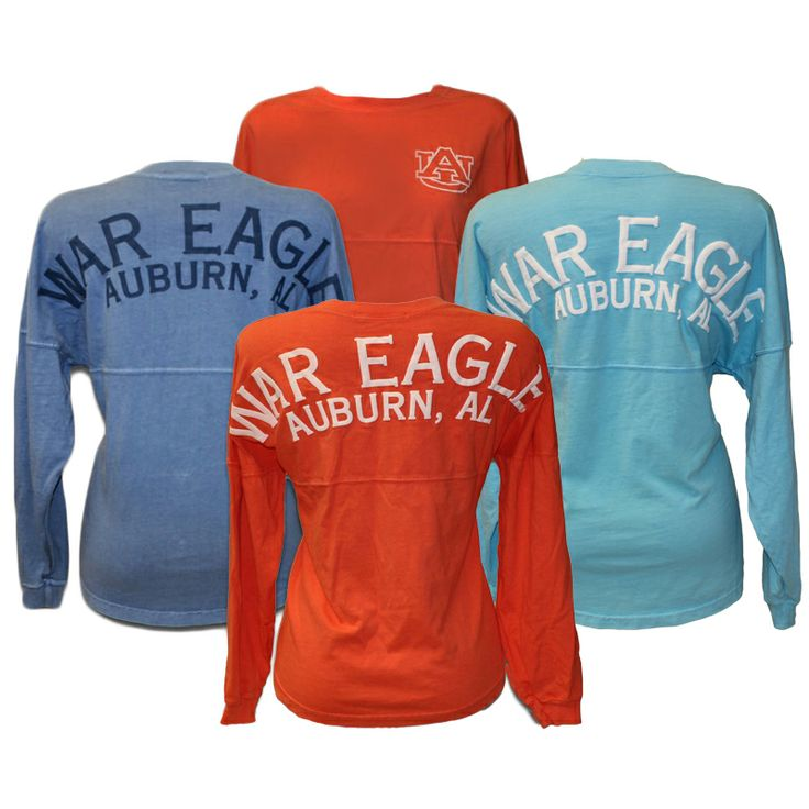 Comfy long sleeve university tee is a fall necessity! #auburn #WDE #fall
