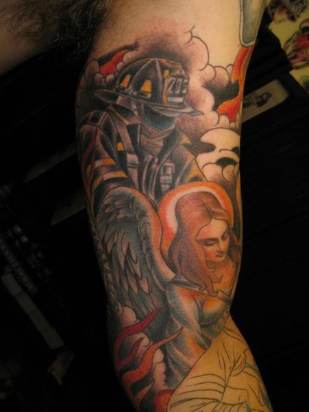 78 best firefighter emt tattoos images on pinterest. Black Bedroom Furniture Sets. Home Design Ideas