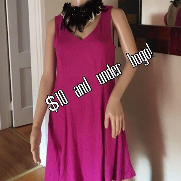 Donna Ricco pink dress Donna Ricco rayon and spandex pink dress Donna Ricco Dresses Midi