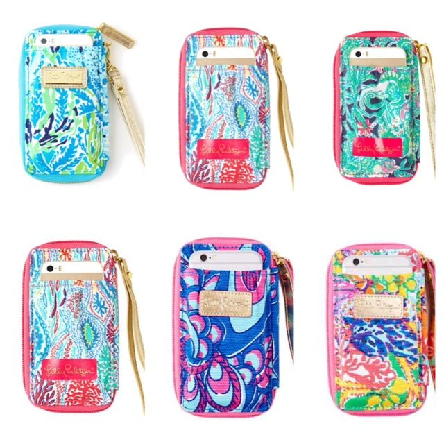 Lilly Pulitzer carded ID wristlet