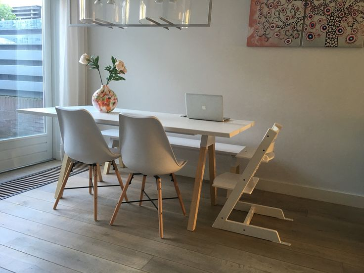 Stoel Essence Medina gewoonstijl.nl Witte eettafel en bank Laforma Stick