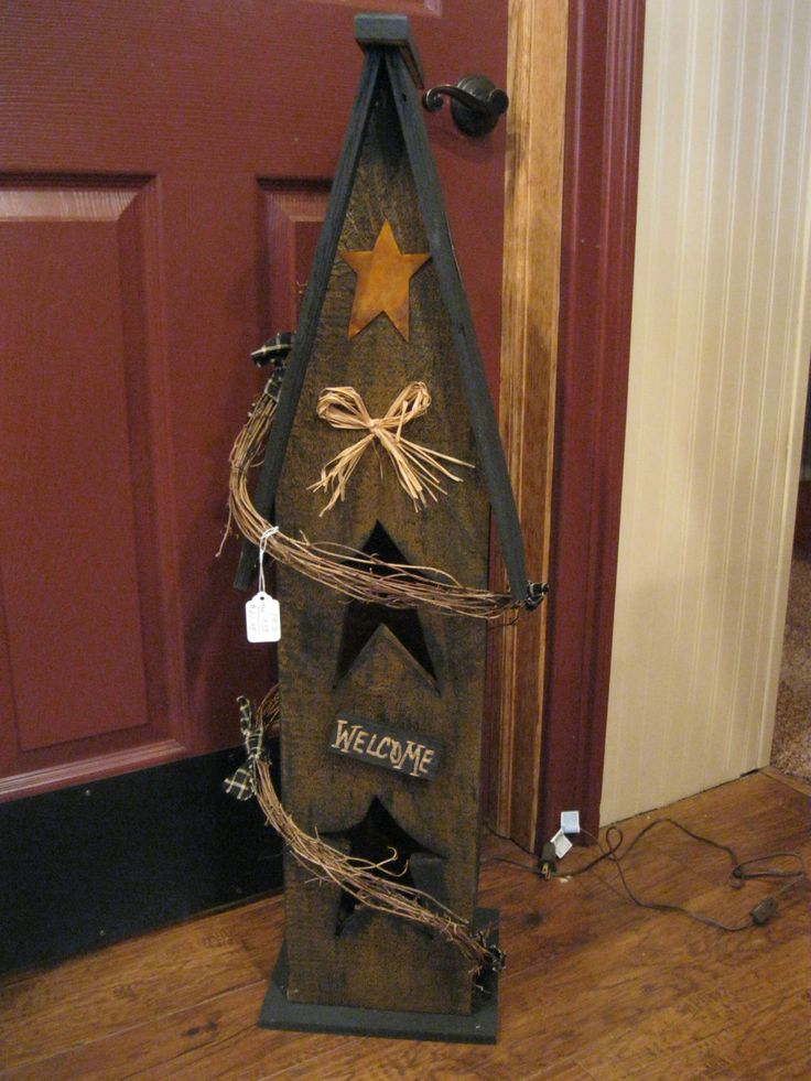 Primitive Crafts | Lighted Birdhouse | Primitive Crafts