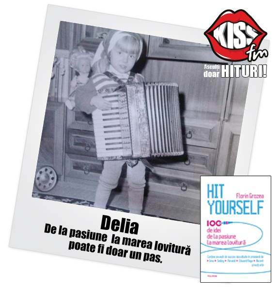Delia Matache în copilărie #hityourself  Cumpără cartea aici: http://www.floringrozea.com/cartea-hit-yourself/