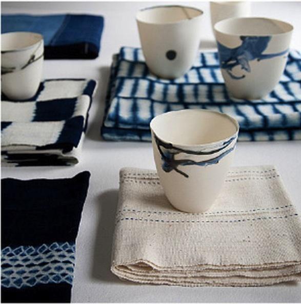 Designer inspiration: Indigo print + pattern