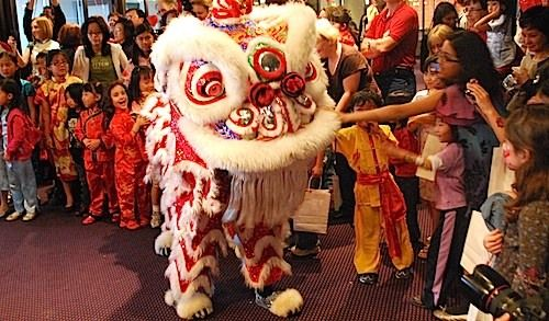 Chinese New Year Lion Dance- Kid World Citizen  all elementary grades SS.3.77/SS.5.11