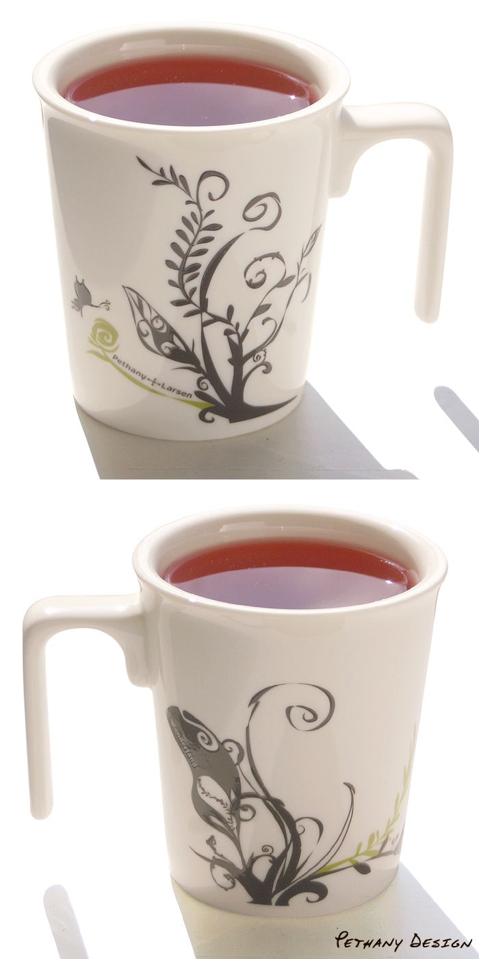 [ Wonderland Kissing Mug (2015) ] Material: Porcelain; Designed in 2014 for Pethany+Larsen. Made in Taiwan.