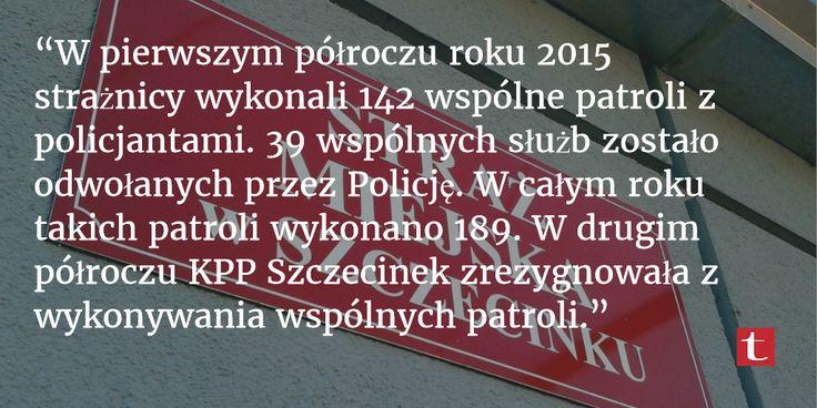 Praca #StrażMiejska w #Szczecinek. Raport roczny. Fakty.
