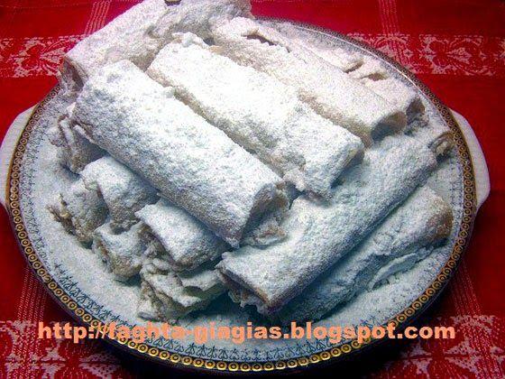 Τα φαγητά της γιαγιάς: Φλογέρες με βανίλια και αμύγδαλα