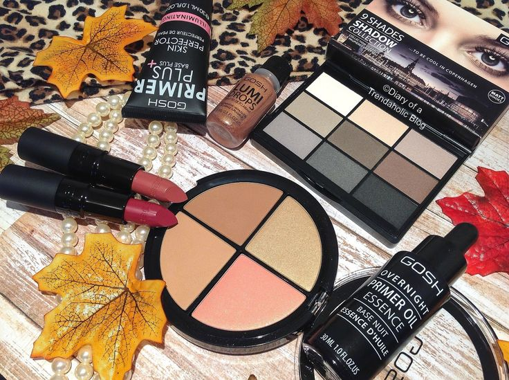 GOSH Cosmetics Fall 2016 Collection & NEW Core Products!