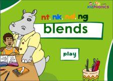 Ending Consonant Blends, nt, nk, ng, nd, Phonics Activity