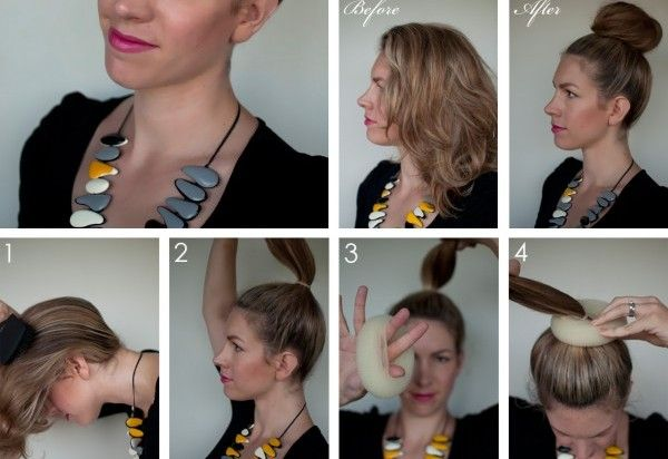 How to Make Giant Top Knot ! Produits capillaires