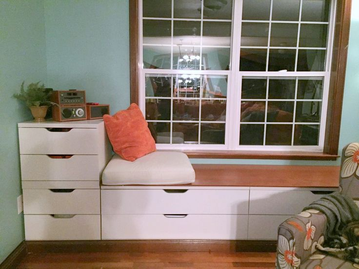 IKEA Stolmen Bench Window Seat Built-in | IKEA Hackers