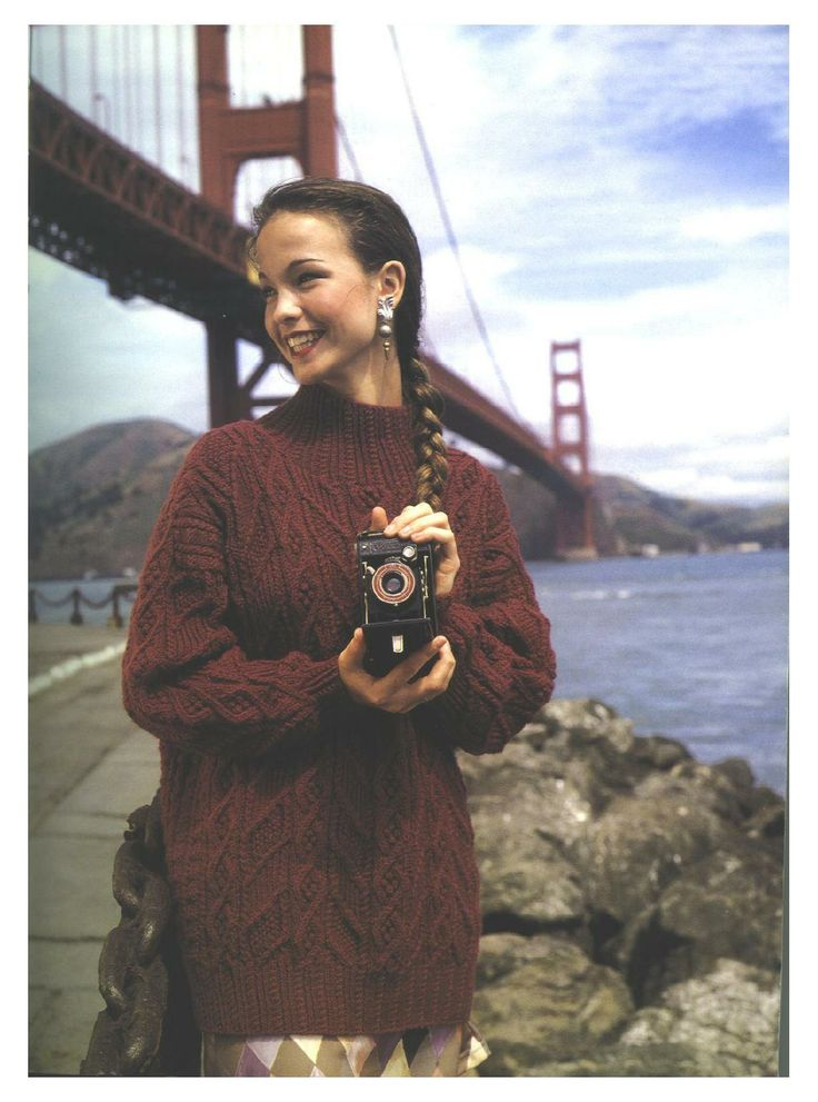 Golden Gate Pullover -- Alice Starmore - Pacific Highway_1