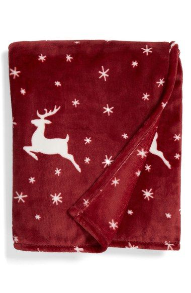 Nordstrom at Home Print Plush Throw available at #Nordstrom
