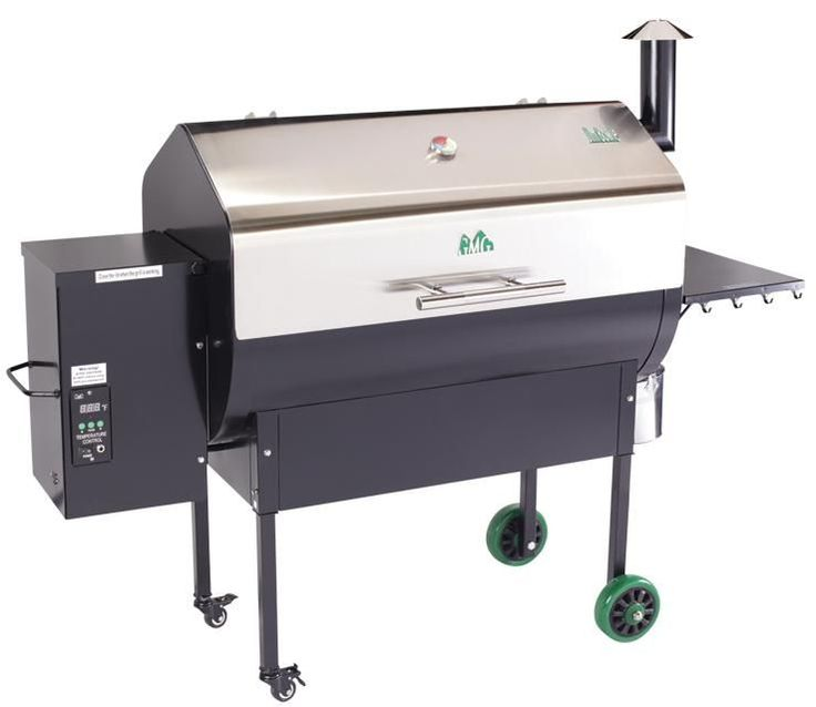 Green Mountain Grills Jim Bowie Stainless Steel Pellet Grill-Wifi Edition