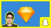 Learn Sketch 3 ( Design Snapchat in 5 steps & prototype ) Coupon|$10 95% off #coupon