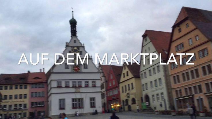 Rothenburg ob der Tauber - Streifzug durch Rothenburg ob der Tauber / Video, Vlog