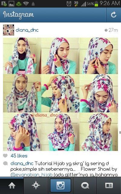 Diana_dnc hijab tutorial