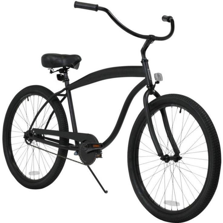 sixthreezero Adult In the Barrell Single Speed Beach Cruiser Bike 2015, Black