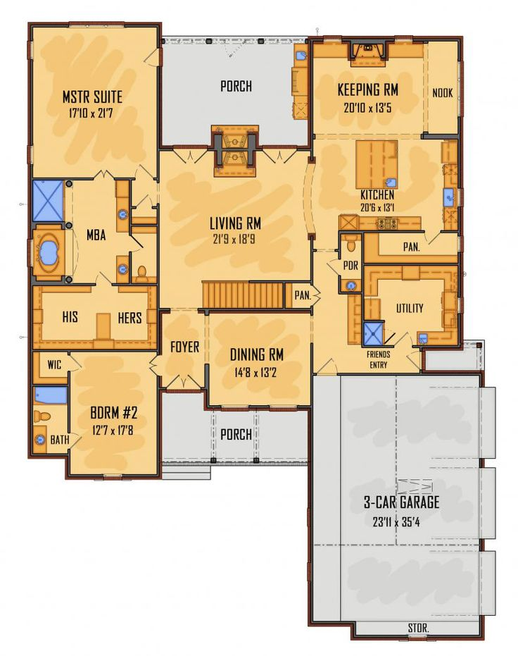 4972 best blueprint images on Pinterest Home plans, Floor plans - new blueprint plan company