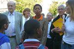 Rectorat de Rouen - Visite de la ministre déléguée à la réussite éducative