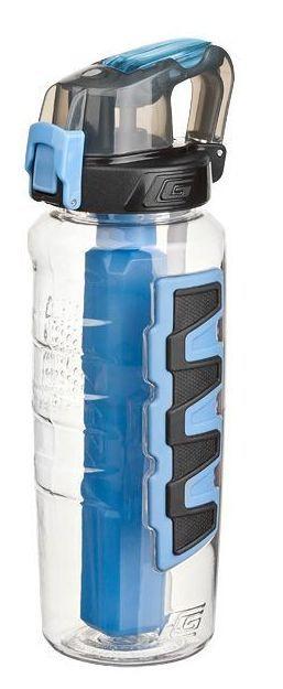 Butelka Grippler z wkładem żelowym, niebieska (pojemność 760 ml) – Cool Gear