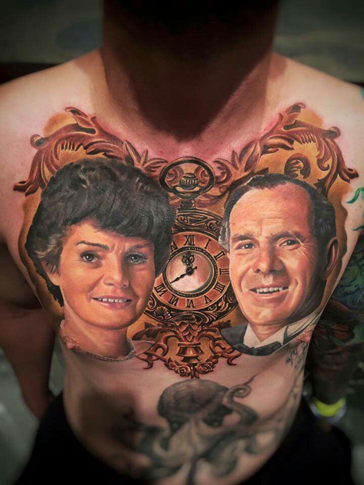 Randy engelhard realistic portrait tattoo from toronto for Best realism tattoo artist near me