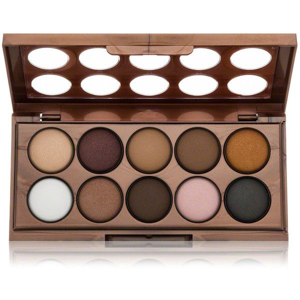NYX NYX Dream Catcher Shadow Palette - Golden Horizons found on Polyvore