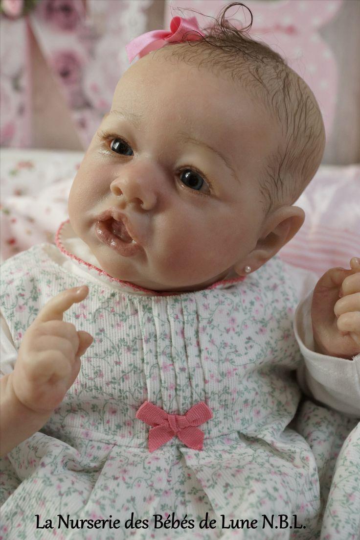 Reborn Baby Doll Kit Saskia De Bonnie Brown Louise